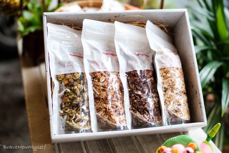 烤燕麥禮盒