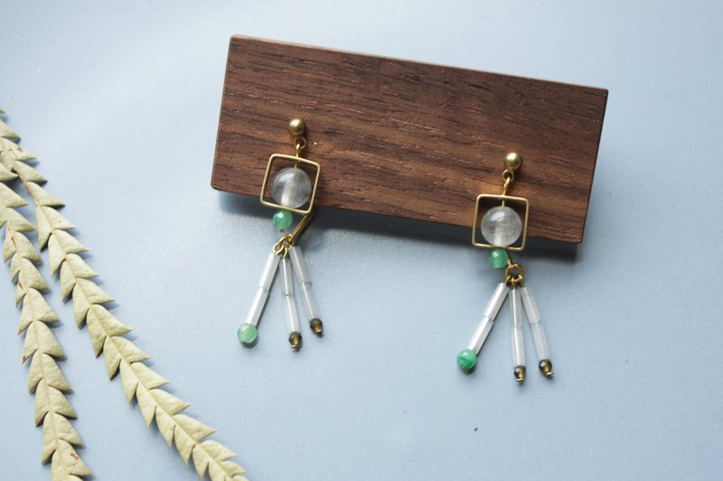 Guppy - earring  clip-on earring