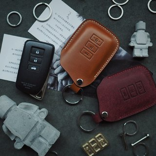 Lexus Lexus leather car key set Italy imported vegetable tanned leather pure hand-designed customized
