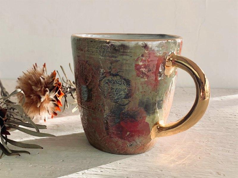 爛漫。繽紛咖啡杯_陶器馬克杯