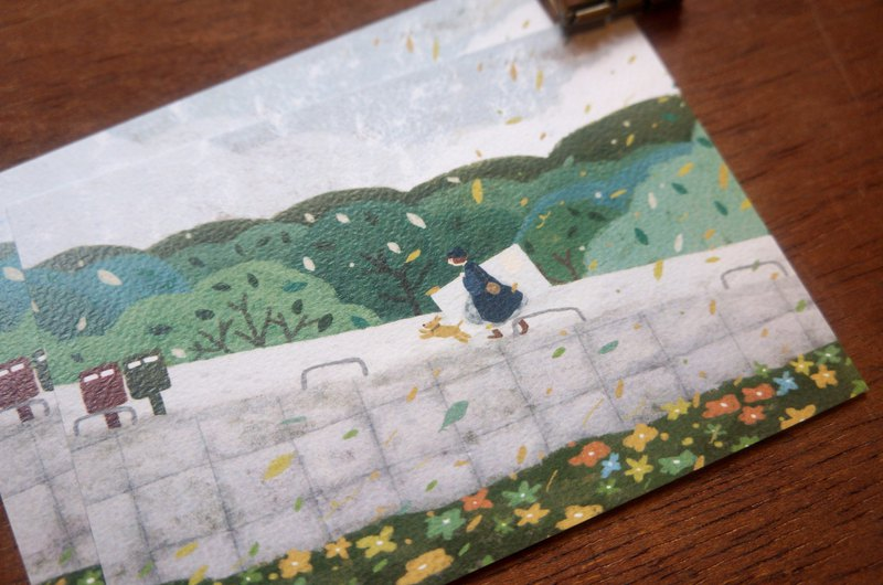 A Letter for you _ postcard