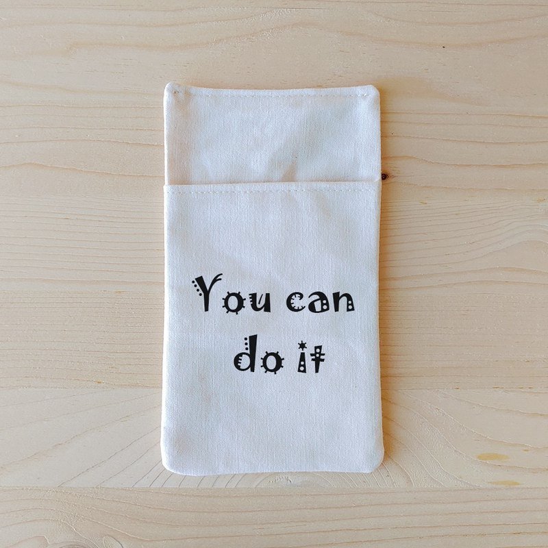 Positive energy_you can do it portable pocket pencil case