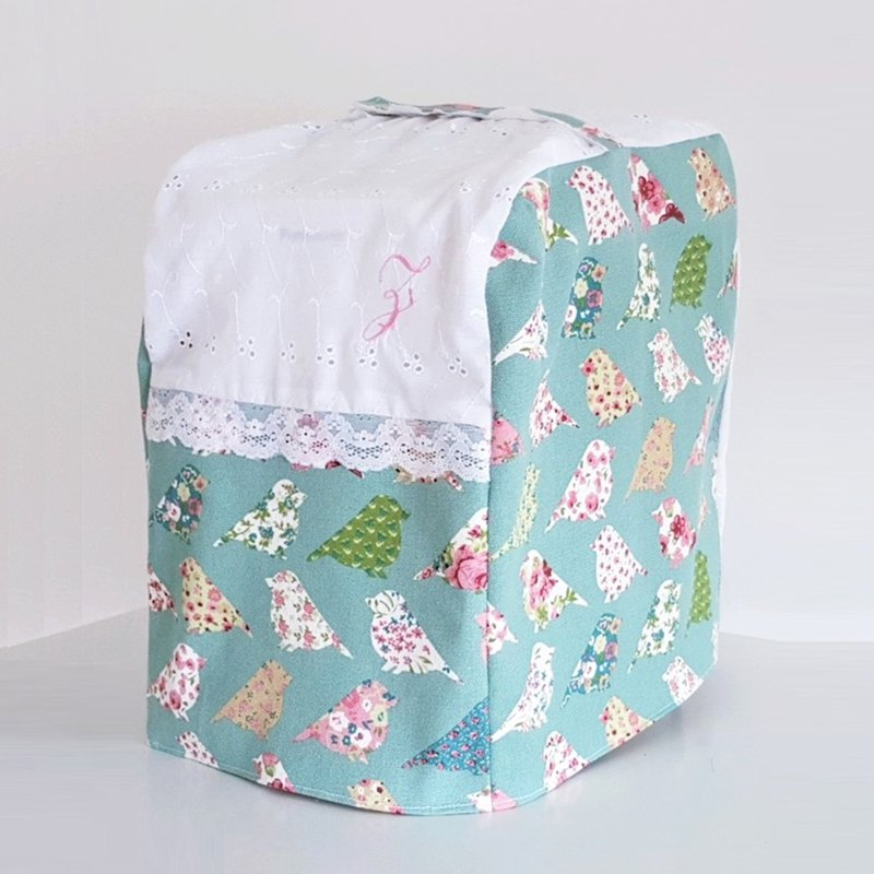 Bread Maker Cover (Pastel Green Birds)