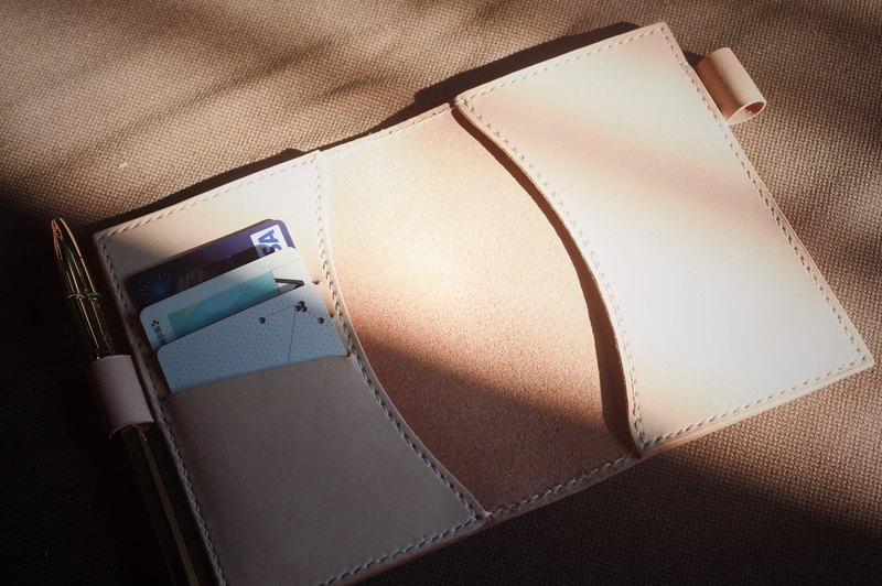 【 艸一田人 】手工義大利進口植鞣真皮護照夾|皮套 passport