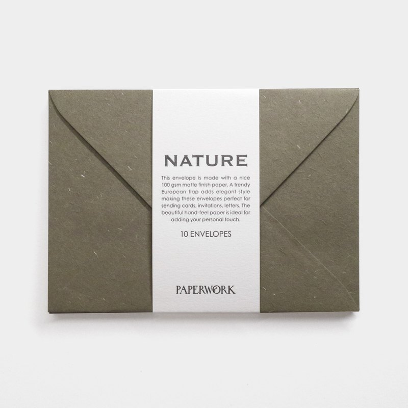 A6 Envelope / Nature / Sage