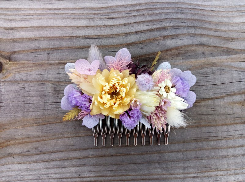 Calamus||Dry flower hair fork, dry flower hair, hair accessories, not withered flowers, hand-made, bridesmaid