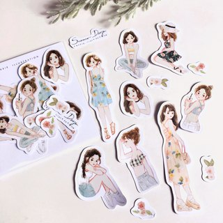 Summer Days Sticker Pack 13pcs