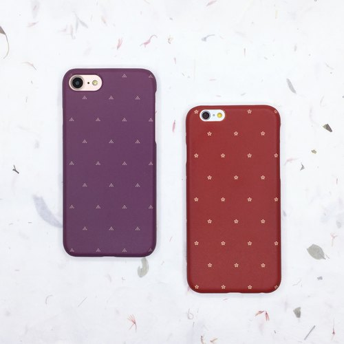 Water jade dot - iphone / Android phone shell hard shell