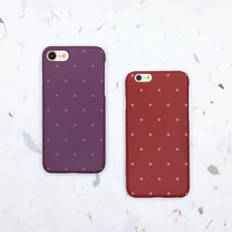 Water jade dot - iphone / Android phone case hard shell