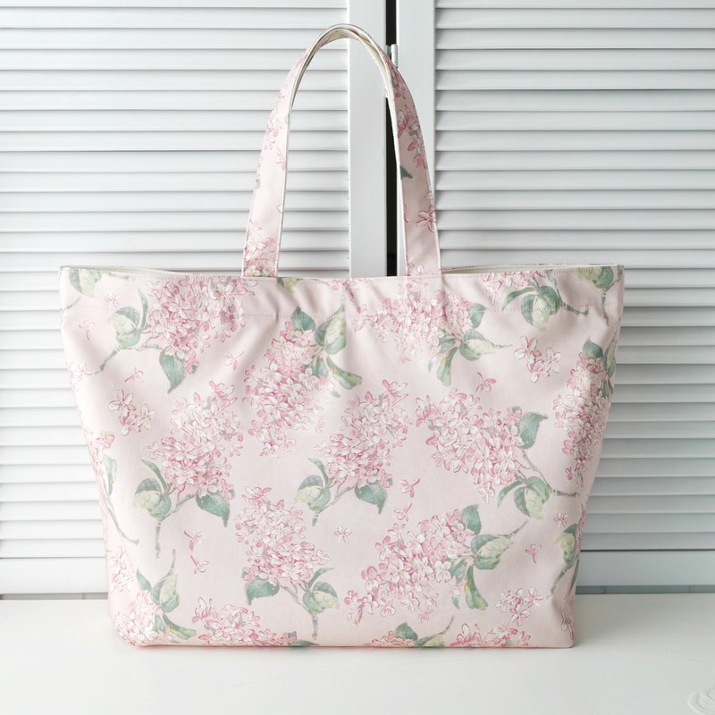 -SPECIAL ORDER- Liberty Fabric Handbag, Tote Bag / Archive Lilac Pink