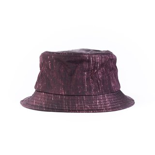 Bucket Hat - Maroon Splash