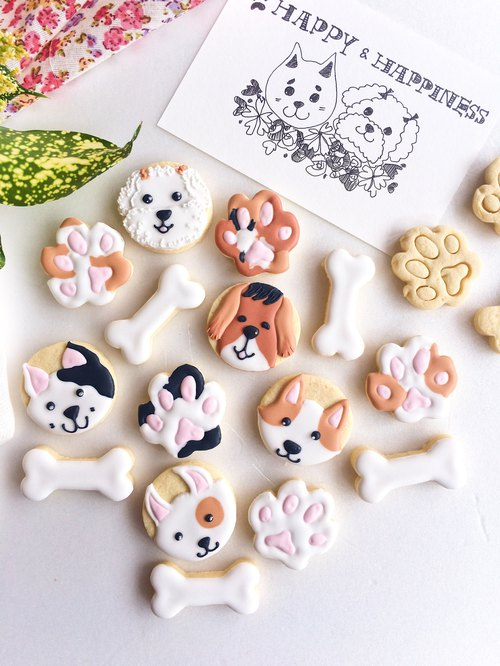 Sugar Cookies • Home Mexs Meeks Oil Hand-Drawn Creative Design Biscuit Combinations**Please Order Before Shooting**