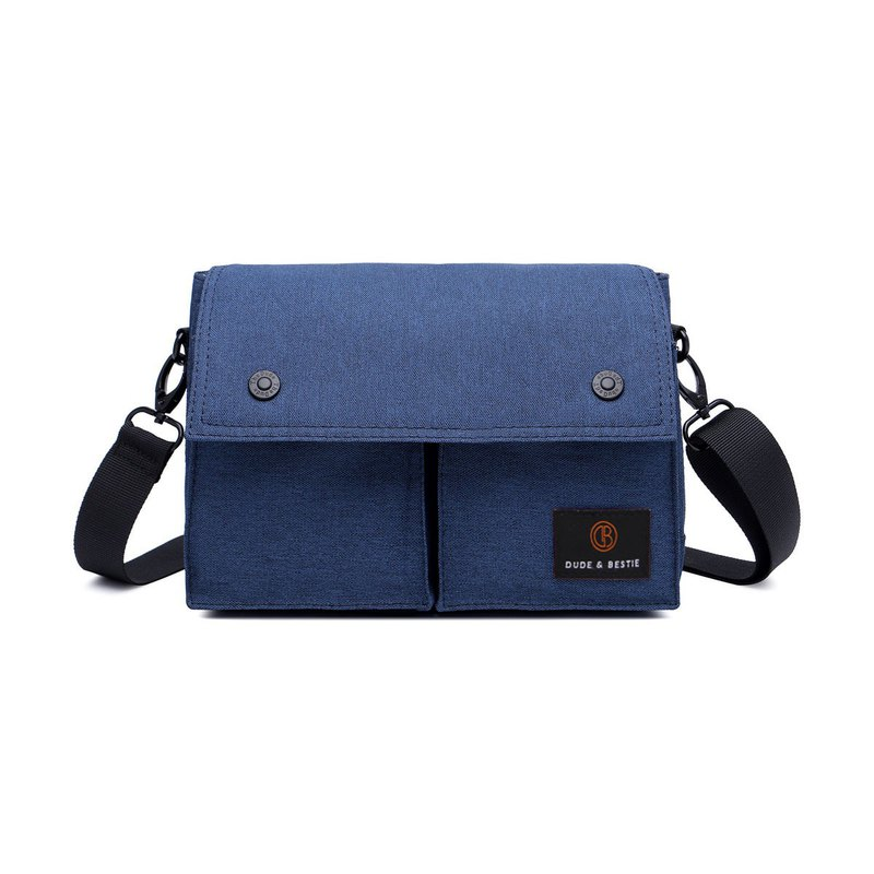 Multi-purpose bag cross-body bag bicycle bag travel bag waist bag Wander - dark blue