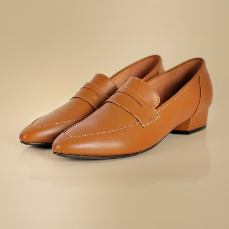 WL Penny Loafer Brown (Elegant Brown) Classic Loafers