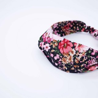 ALLURE Floral Handmade Hairband Limited Hairband Cross Hair Band