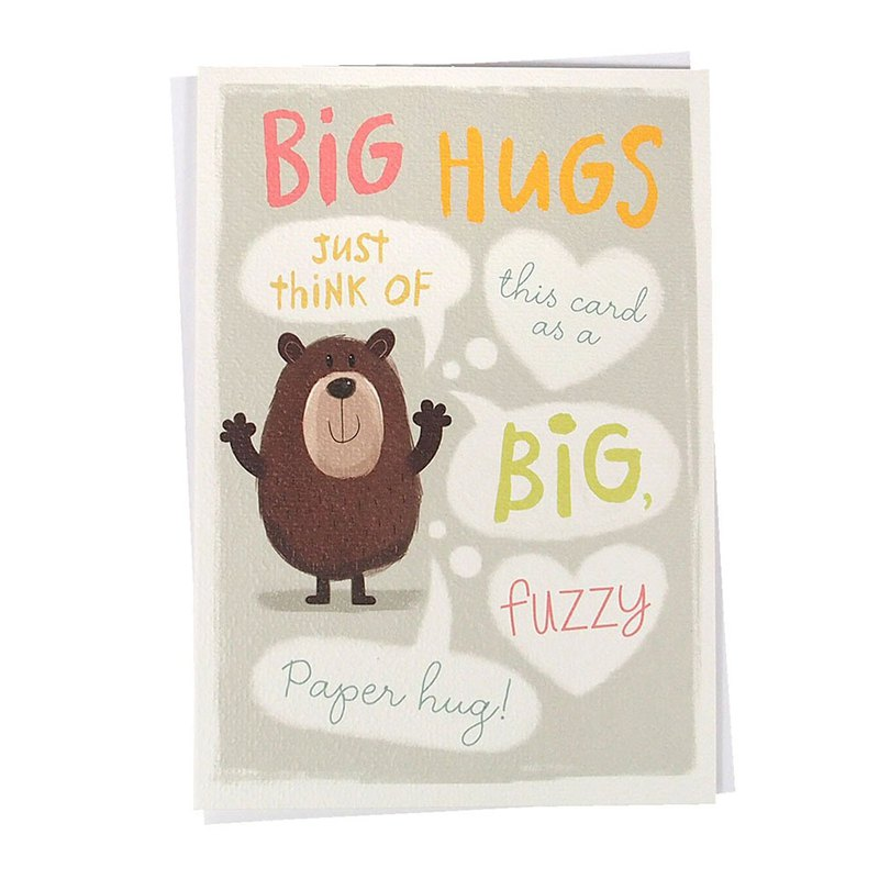 The big hug of the egg bear [Hallmark-GUS series soul comfort]