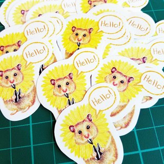 Hamster sticker pack