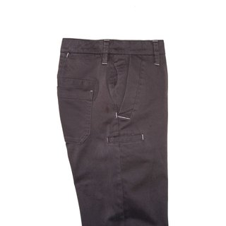 MOSCOW BROWN 8 POCKETS, STRAIGHT Moscow dark brown eight-pocket straight trousers