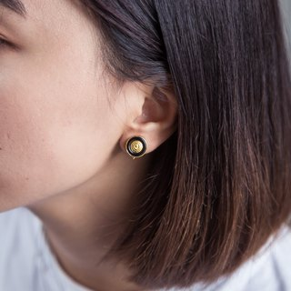 Fruit earrings are not easy to sensitive ear:::手伴:::