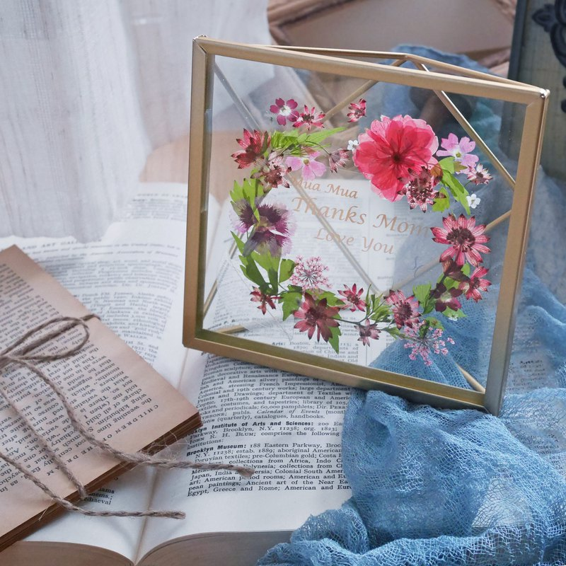 PRESSED FLOWERS PHOTO FRAME