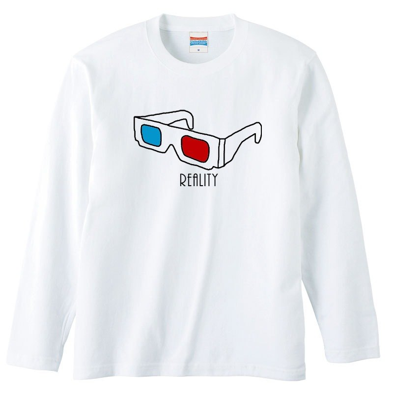 [Long sleeve T-shirt] Reality