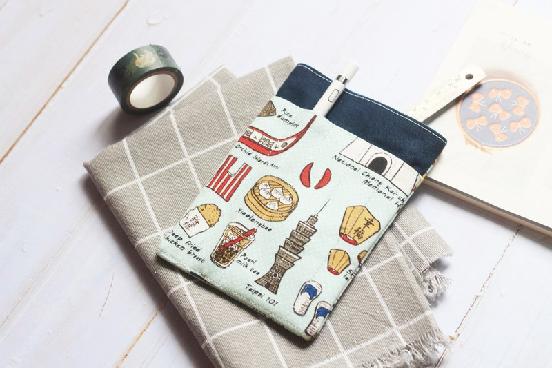 Double pocket pouch. Taiwanese characteristics