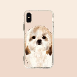 Big face Xi Shi embossed air shell - iPhone / Samsung, HTC.OPPO.ASUS pet phone case