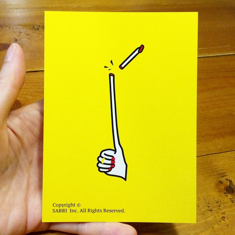 Like the pocky, like the fragile praise (can make A3 size poster) Birthday Card Design Coloring Illustrator Picture Card Universal Card Art Love Special Funny Strange Characteristic Weird Cute Taiwan