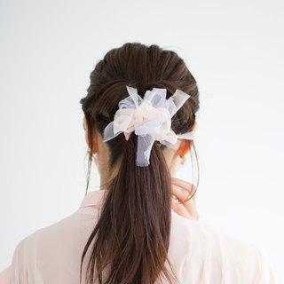 Reproducted for Pinkoi || mini||Sweet|| Blooming Sakiami Colourful Hair Scrunchy