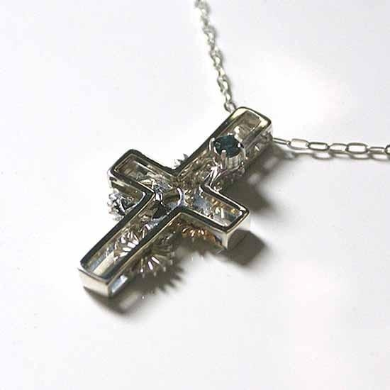 Gear moving pendant in cross