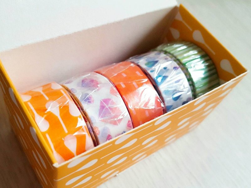 【Spring Small Gift】 Craft Paper Tape Gift Set Craft Collection 02 / GTIN: 4713077972816