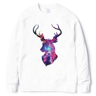 Cosmic Stag # 3 University T neutral bristles white deer cosmic cheap fashion design own brand Milky Way fashion triangle