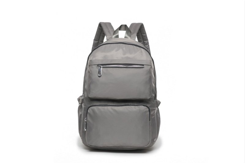 Classic large capacity backpack / travel backpack / student bag unisex - gray #1024