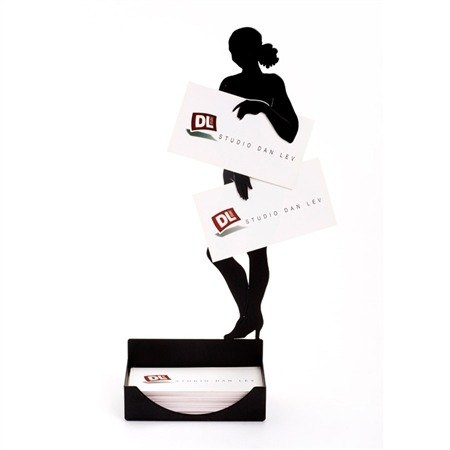 Mystery girl card holder