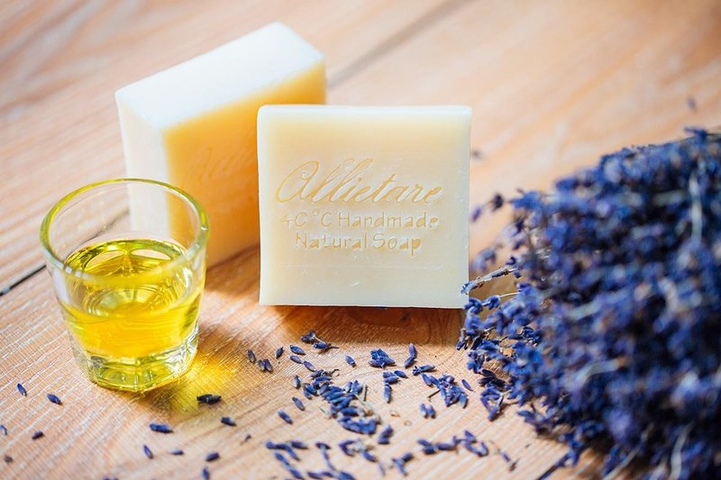 Allietare love to create / lavender baby goat soap / baby, pregnant women, the whole family size / novice mother recommended / SGS test pass
