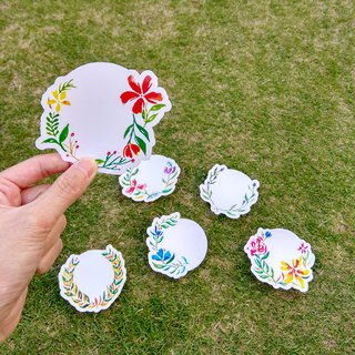 Mstandforc Wreath Big Stickers (6 pcs)