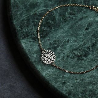 Golden Dali Flower Bracelet XS