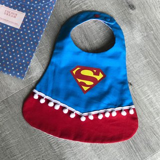 Mi Yue ceremony child fun pocket female superman color matching dress pocket type large hair ball ribbon