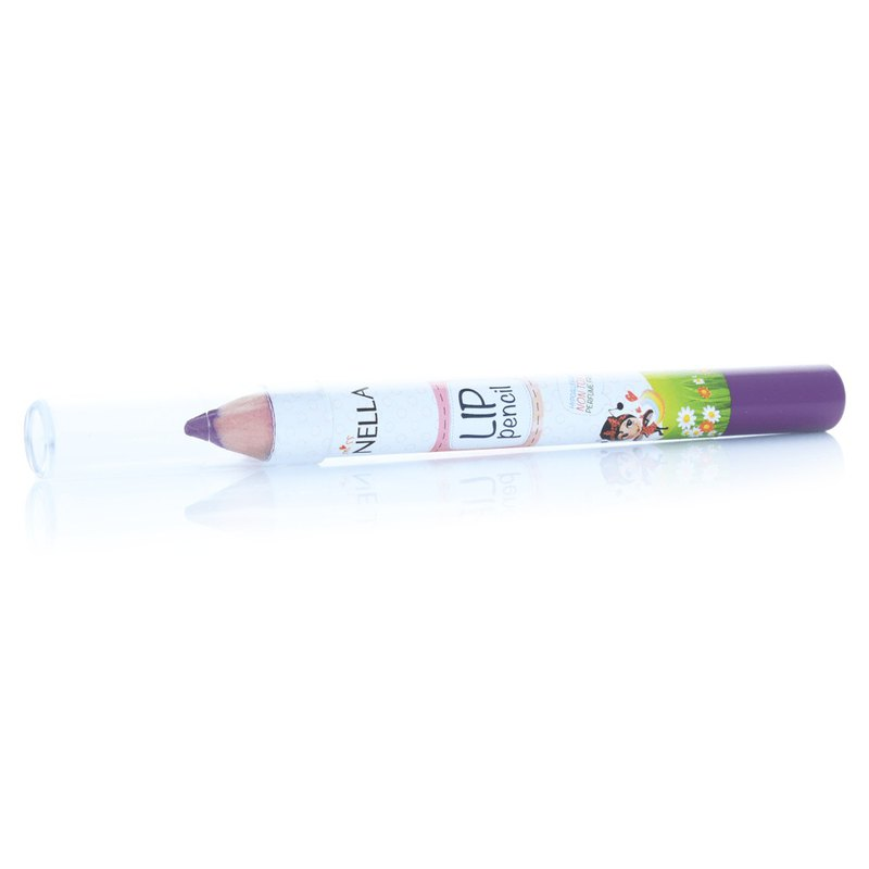 British [Miss Nella] children's water-based lipstick pen - wild fruit breeze purple