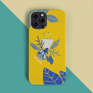 Yellow Spring Flower Phone case