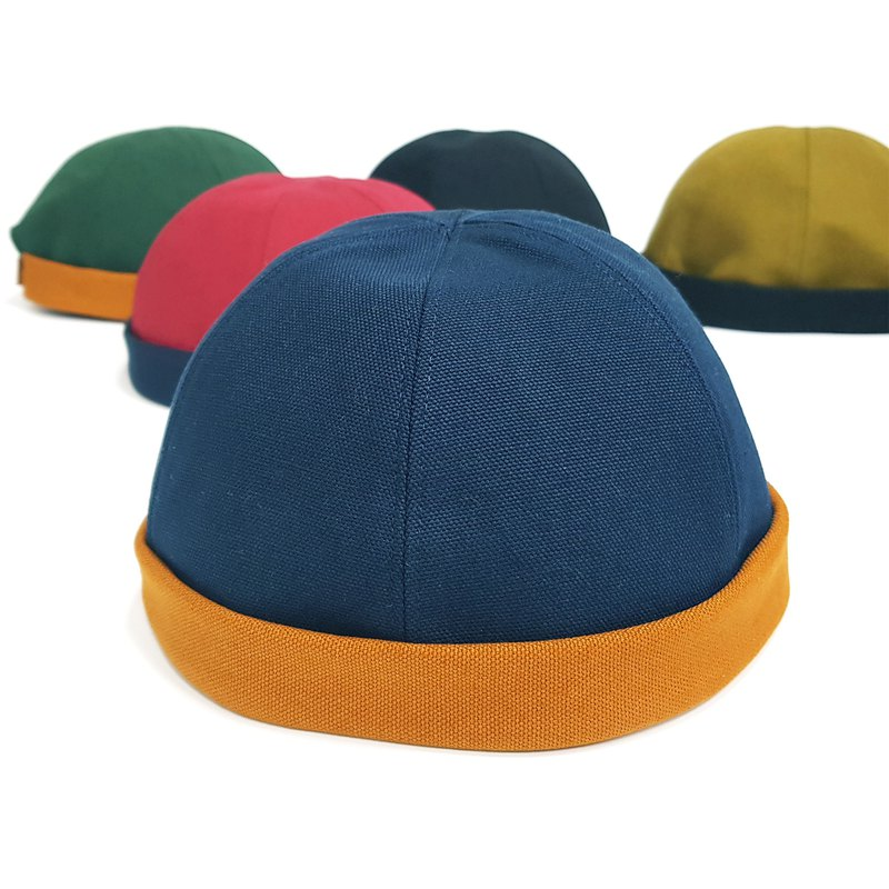 Tide Explosion ~ Sailor Cap / Watermelon Cap - Trend Blue / Yellow with #潮流文青必备# Easy to get started