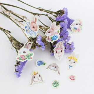 Stickers - Bunny and Floral