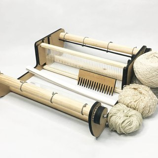 20-inch wide table shuttle loom set