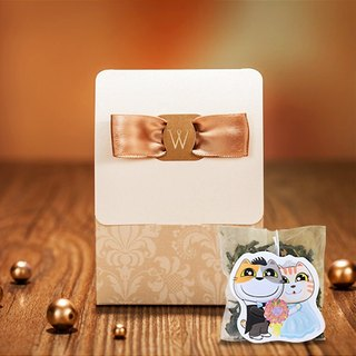Understated Luxury Wedding Small Things Cats Tea Customized Manual Wedding Tea Bag Gift Cat Modeling Creative Tea Bags (50 Orders)