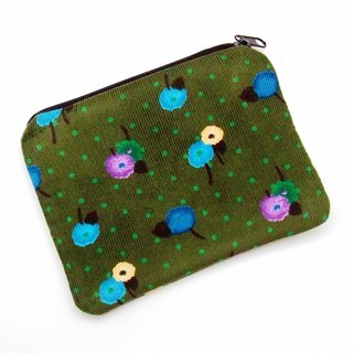 Zipper pouch / coin purse (padded) (ZS-185)