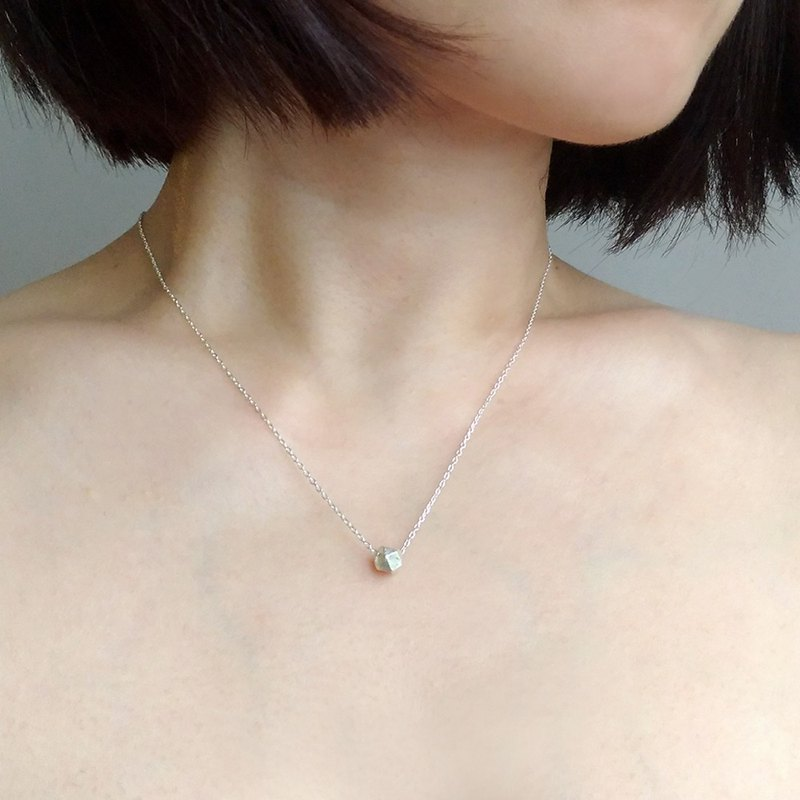 N028-sterling silver necklace