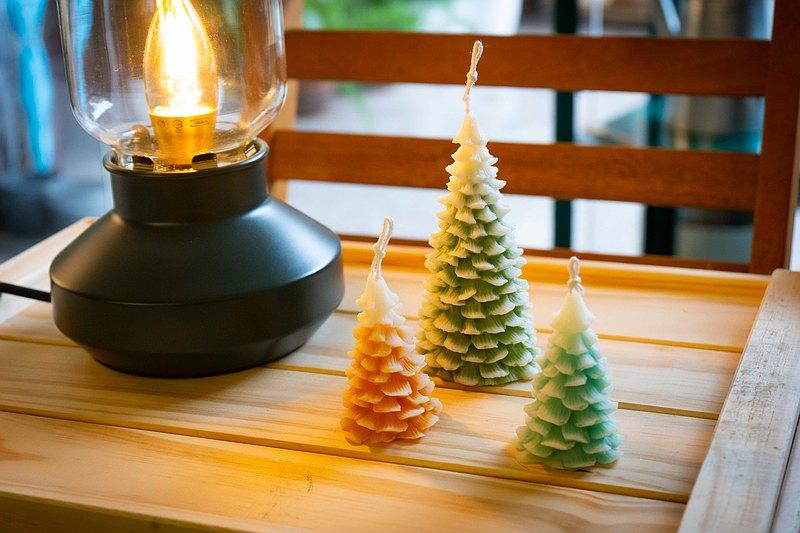 【訂製】聖誕樹蠟燭・天然大豆蠟/JUNO Candle