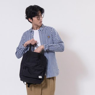 【ad-lib】2-way Backpack - Black//Yellow (BA167)