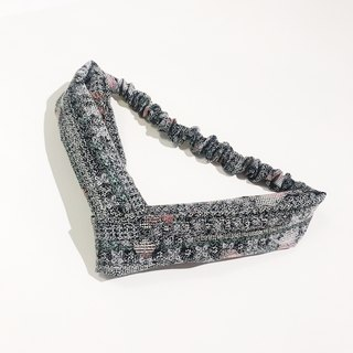 Japanese old cloth retro hair band