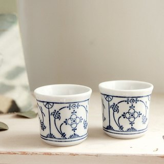 [Germany] good day fetish vintage classic classical egg cup (blue section)